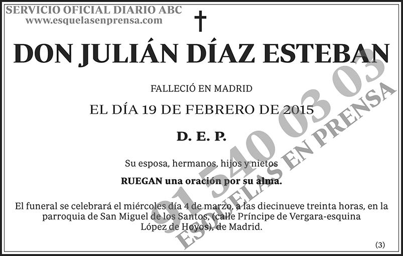 Julián Díaz Esteban